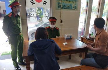 Công an thành phố Hà Tĩnh quyết liệt phòng chống dịch bệnh Covid-19