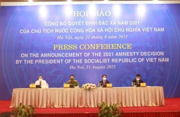 Công bố Quyết định của Chủ tịch nước đặc xá 3.026 phạm nhân