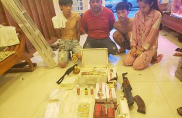 Thêm 6 đối tượng trong vụ bắt gần 21kg ma túy sa lưới