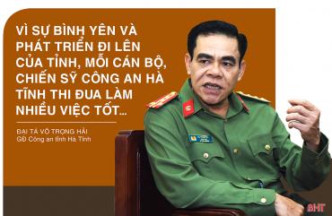 """Tạo chuyển biến mạnh mẽ từ việc thực hiện tốt phong trào """"Vì an ninh Tổ quốc"""" ở Hà Tĩnh"""