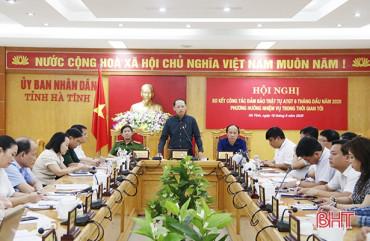 6 tháng, 61 người chết vì tai nạn giao thông trên địa bàn Hà Tĩnh