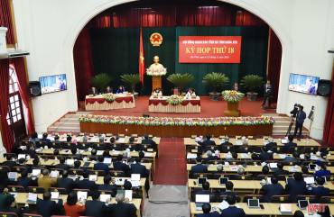 Khai mạc Kỳ họp thứ 18 Hội đồng nhân dân tỉnh Hà Tĩnh