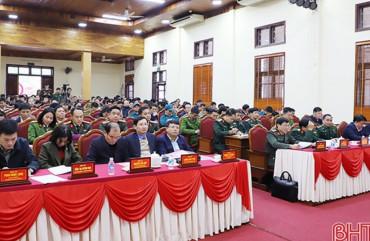 Thành phố Hà Tĩnh tập trung giữ vững QPAN gắn với phát triển kinh tế