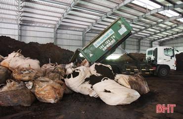 Công ty xử lý rác thải ở Hà Tĩnh bị phạt 420 triệu đồng