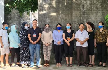 Công an TP Hà Tĩnh triệt xoá đường dây lô đề, bắt giữ 11 đối tượng