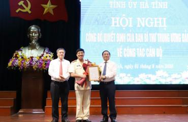 Ban Bí thư chỉ định Đại tá Lê Khắc Thuyết tham gia Ban chấp hành, Ban Thường vụ Tỉnh ủy