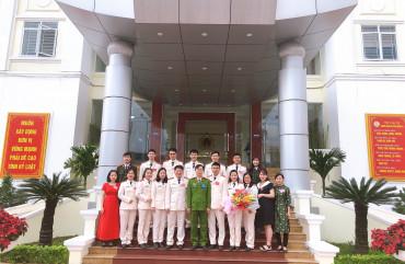 Viết tiếp truyền thống vẻ vang của lực lượng tham mưu Công an thành phố Hà Tĩnh