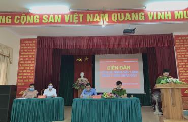 """Diễn đàn """"Công an TP Hà Tĩnh lắng nghe ý kiến nhân dân"""" tại P. Bắc Hà: Nhân dân ghi nhận, cảm ơn, đánh giá cao, tin tưởng và đồng lòng với lực lượng Công an"""