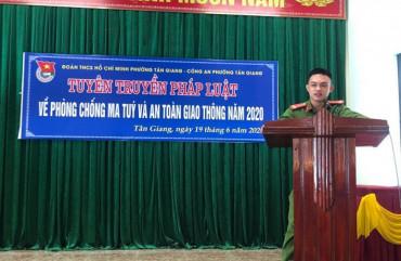 Hiệu quả từ các mô hình phòng ngừa ma túy trên địa bàn thành phố Hà Tĩnh