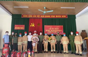 """Công an thành phố Hà Tĩnh: ra mắt mô hình """"Khu dân cư an toàn về phòng cháy chữa cháy"""""""