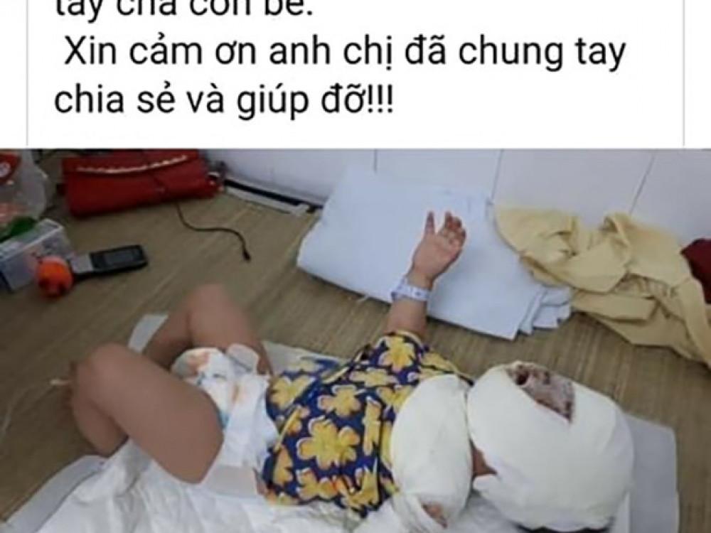 Bài kêu gọi hỗ trợ bé Nguyễn Như Ngọc được đăng lên facebook.