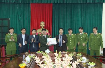 Hệ thống tổ chức bộ máy của Công an thành phố Hà Tĩnh
