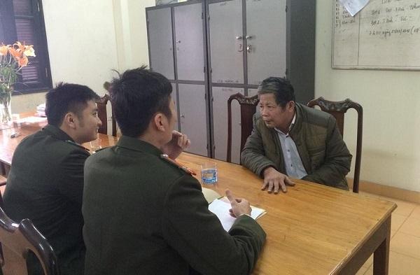 Đối tượng tà đạo Lưu Văn Ty làm việc tại Cơ quan an ninh