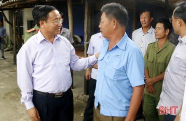 Bí thư Tỉnh ủy Hà Tĩnh tiếp công dân định kỳ vào ngày 28/3/2019