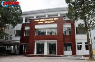 """TP Hà Tĩnh tiếp tục là """"quán quân"""" về chỉ số cải cách hành chính"""